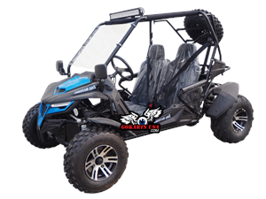 TrailMaster Cheetah 150X Go Kart CVT Auto with Reverse