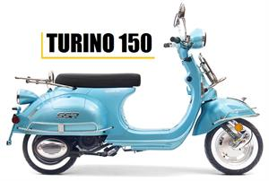 2016 Turino 150 Moped Scooter