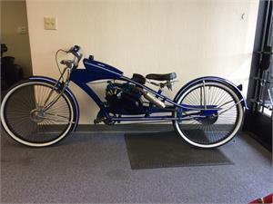 Predator 212 Motorized Bicycle, Pedals with Gas Engine