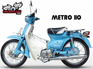 BMS Metro 110 Moped Scooter