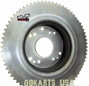Minibike Sprocket and Drum, for 6 inch Astro Rear Wheel