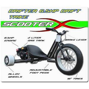 Drift Trike, 6.5hp Gas Engine