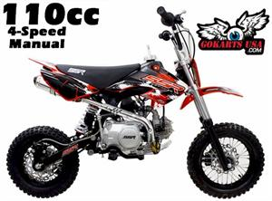 SSR 110DX Pit Bike, 4-Speed Manual