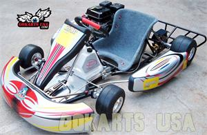 Road Rat Racer TAG Adult Race Go Kart, Electric Start