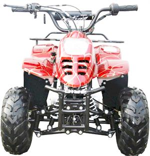 Coolster  Mini 110 ATV, red, front
