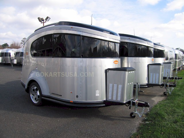 Airstream Travel Trailers >> Airstream BASECAMP ATV Transport Camper Trailer