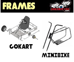 Gokart and Minibike Frames and Accessories