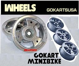 gokart and minibike wheels