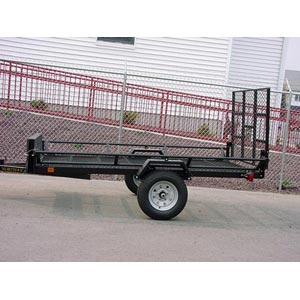Sportstar Ii 5x9 Trailer With Rear Gate