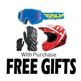 Free Gifts with Powersports purchase